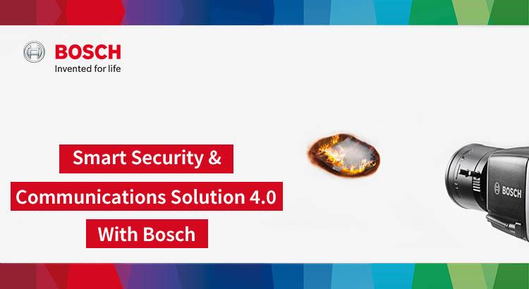 สัมมนา Smart Security & Communications Solution 4.0 with Bosch
