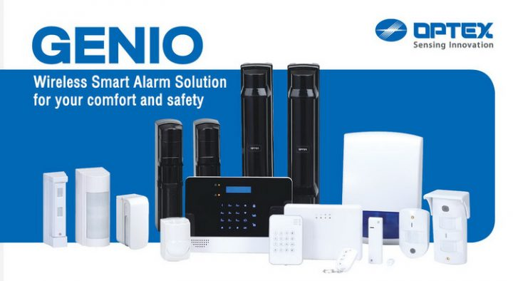 GENIO : Wireless Smart Alarm Solution for your comfort and safety