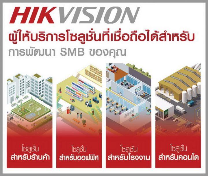 HIKVISION ผู้ให้บริการที่เชื่อถือได้สำหรับการพัฒนา SMB ของคุณ