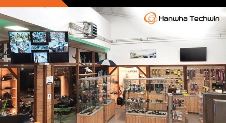 STORE SAFE PEOPLE Strengthens Safety and Protects Assets for its New Retail Store with Hanwha's Wisenet solution