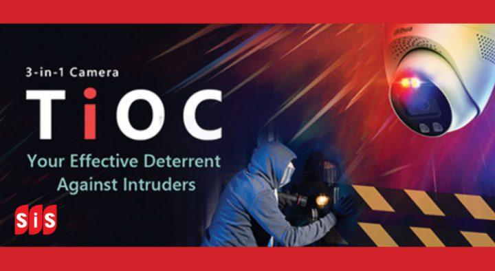 DAHUA Technology เปิดตัวสินค้าใหม่ TiOC (Three in one cemara)